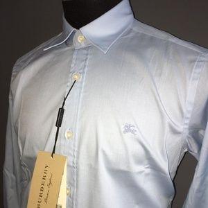 Burberry London Men's Casual Button Down shirt